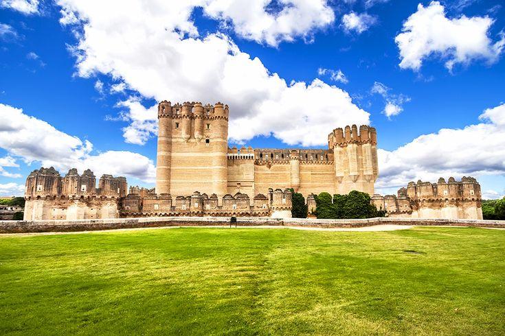 Castillo de Coca i Spanien #castillo #coca #castillodecoca #spanien #spain #castle #slott