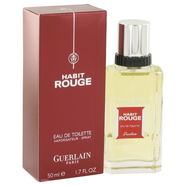 Habit Rouge Guerlain Masculino 50ml EDT - https://www.dgstores.com.br/habit-rouge-guerlain-masculino-50ml-edt
