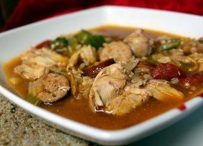 ЕГО ПОМОЩНИЦА: Гамбо - суп с колбасой
