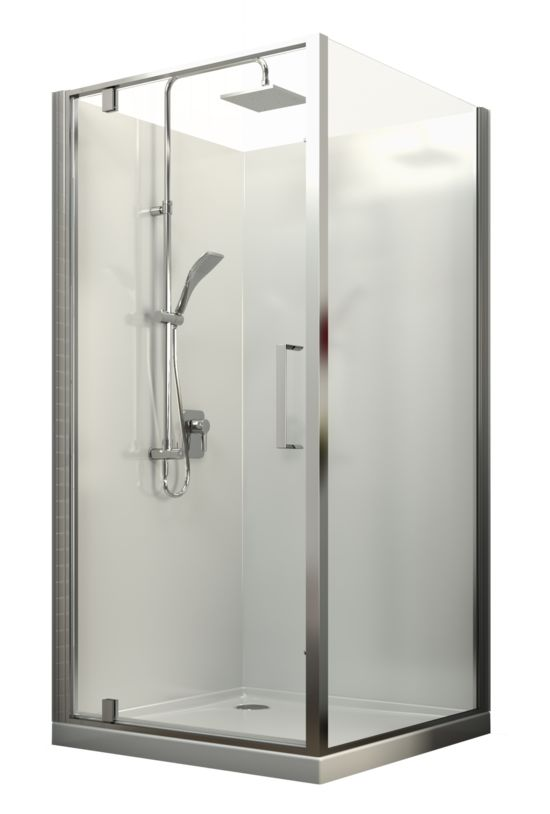Englefield Milano Square Shower Square shower, chrome frame, different sizing and waste options, includes tray and liner. http://www.plumbin.co.nz/shop/showers/milano_square_shower.html