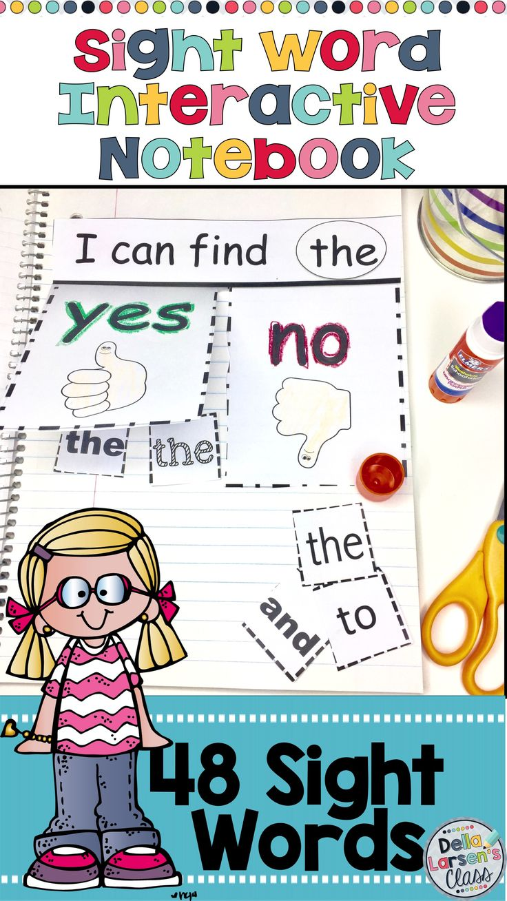 A sight word interactive notebook to increase reading fluency of sight words. A fun hands on activity for kindergarten reading block. Increase reading fluency for your struggling readers, ELL's and special needs students. This resource works great with homeschool families. This no prep printable is fun for the kids to color, cut and paste. The finished product makes a great portfolio for parents. This is a complete set of 48 sight words, including DIBLES. Great product to use while you are…