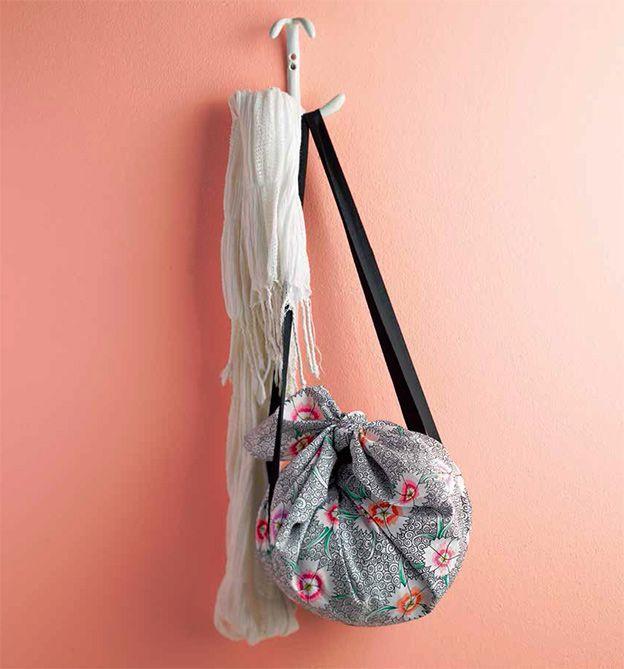 Furoshiki-Taschen ohne Nadel und Faden