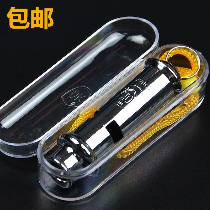 De acero inoxidable de alta frecuencia de alta decibel silbido de la supervivencia de salvamento y socorrismo de metal al aire libre