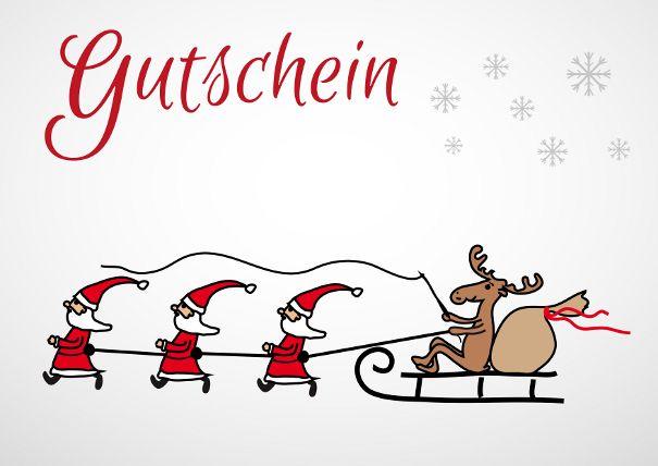 Gutscheinvorlagen Fur Weihnachten Vordrucke Zum Ausdrucken 10