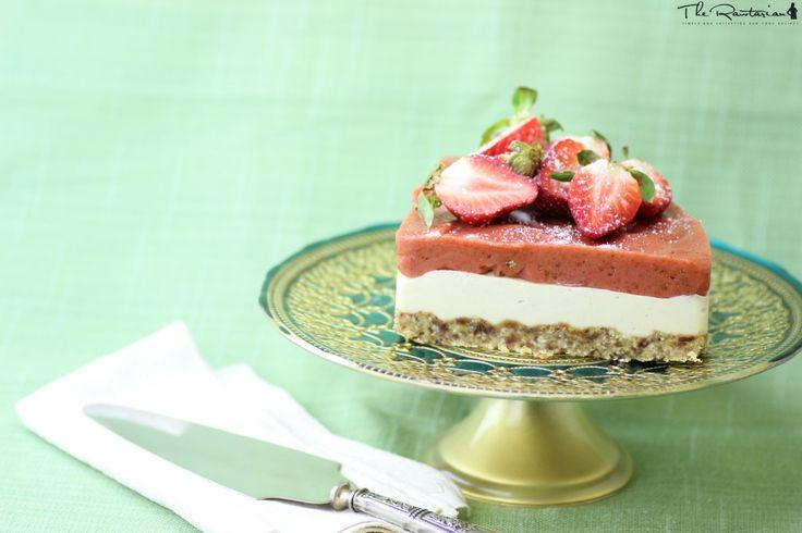 The Rawtarian: Raw vegan cheesecake