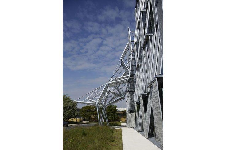 Dominique Perrault Architecture - Nouvelle halle de mécanique (ME) de l'école polytechnique fédérale de lausanne