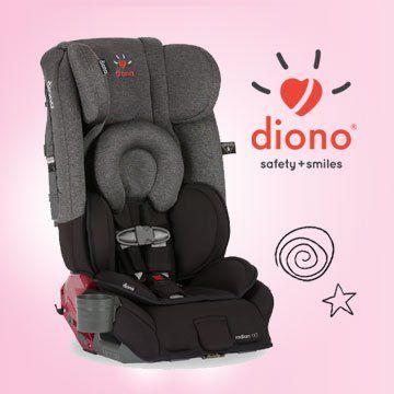 Concours - Courez la chance de remporter un siège d'auto convertible Diono radio rXT