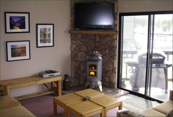 Stove With Tv Above Wood Burning Stove Installation
