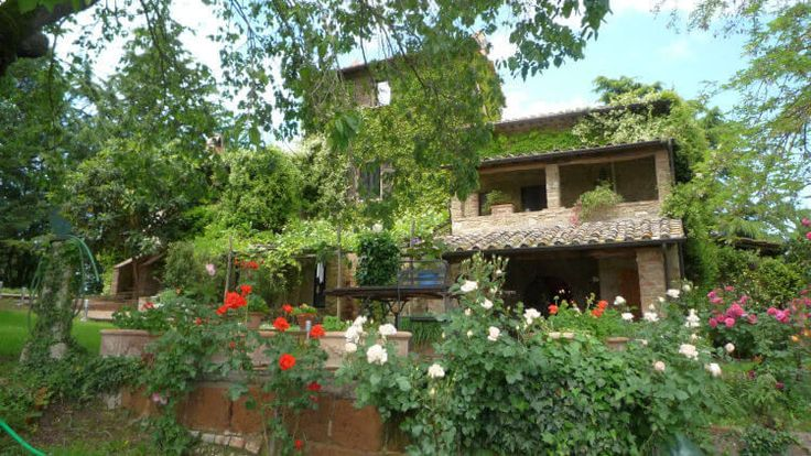 Stay on an agriturismo, farm estate with lodging, in Italy.
