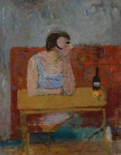 Kobieta w barze, Artur Nacht-Samborski