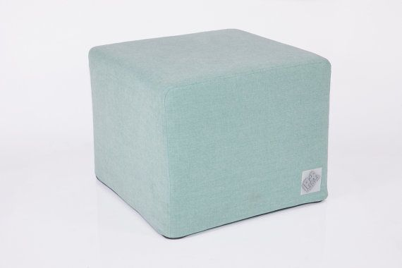 Poofa Premium  Mint  pouf with exchangeable cover by ProjektPoofa