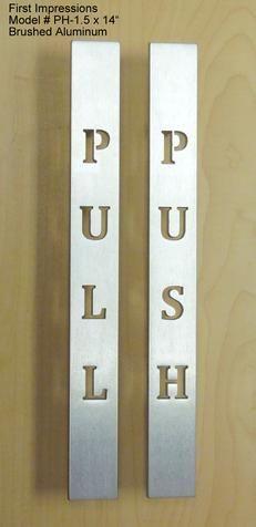 Commercial Door Pulls & Hardware   Commercial Door Handles