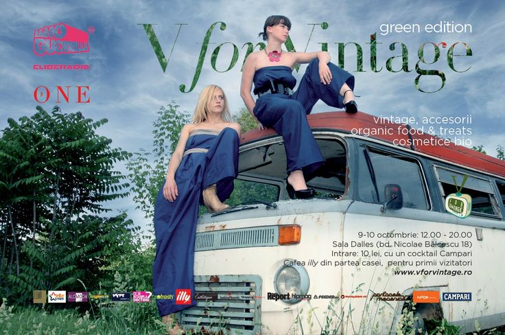 V for Vintage Fair - Green 2010 Edition