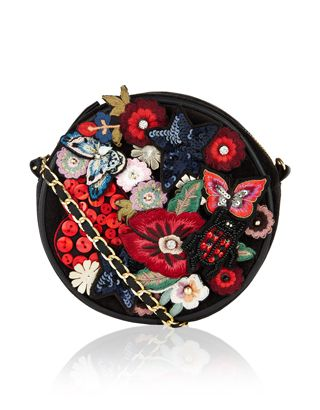 This fabulous cross-body bag is rich with vibrant 3D details, textures and…