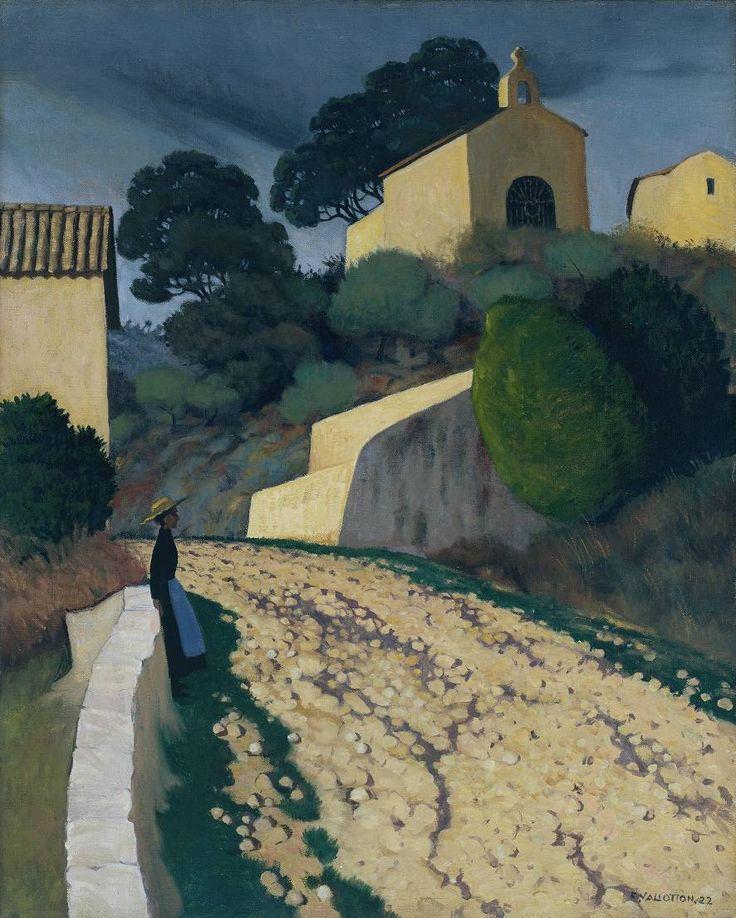 """fleurdulys: """" Road at St Paul - Felix Vallotton 1922 """""""