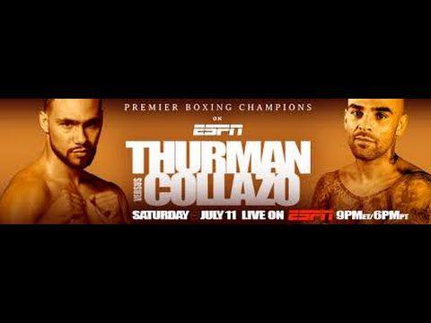 Keith Thurman vs. Luis Collazo Prediction