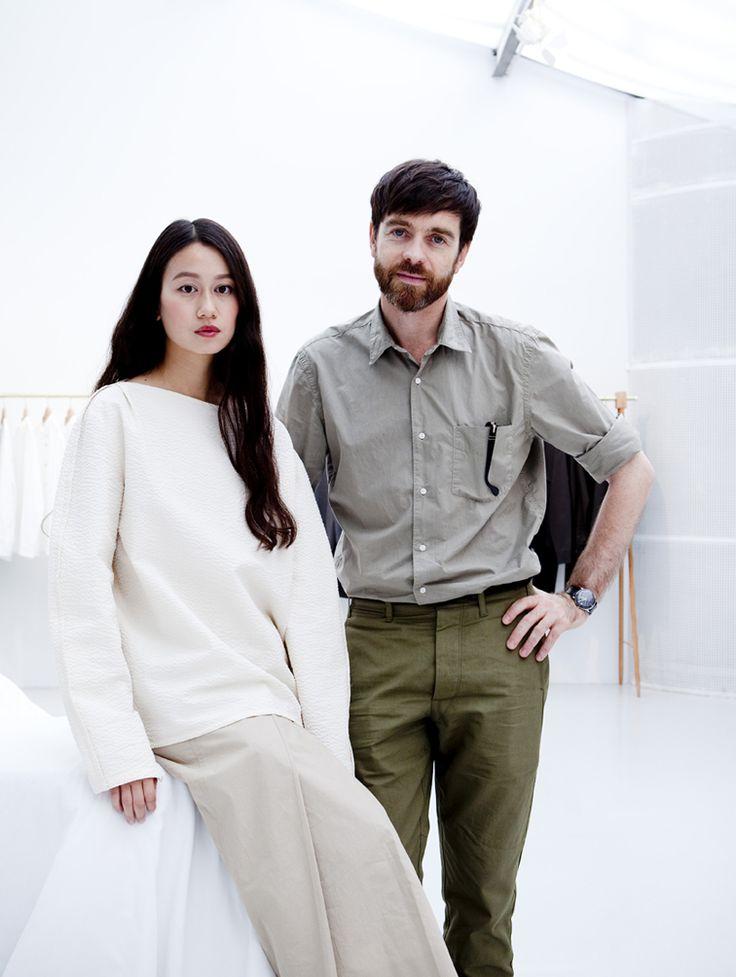 "northmagneticpole: "" Sarah Linh-Tran and Christophe Lemaire-Julie Ansiau """