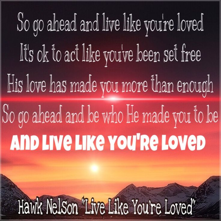 Lyric powerful christian song lyrics : 17 best hawk nelson words images on Pinterest | Lyrics, Music ...