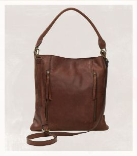 Ladies genuine leather tote