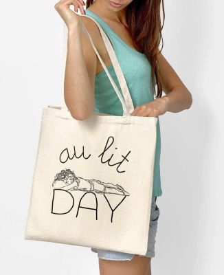 Totebag Femme au lit day Naturel by Shaman