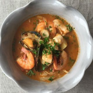 17 best images about simply italian the chiappa sisters on for Creamy fish stew