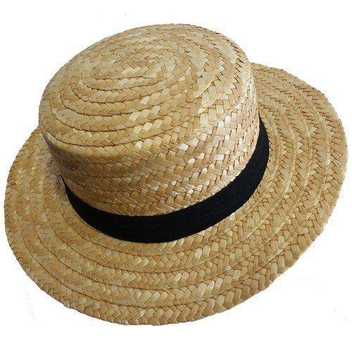 Strohhut / Hat / Cappello  als Venezianischer Gondoliere mit Hutband    Farbe: Beigetöne / Strohfarbe (mit Schwar Hutband)  Größe (Kopfumfang): 50 cm (für Kinder) - S (55 cm.) - M (56/57 cm) - XL (60 cm.)  Material: 100% Stroh  Geliefert wird: Strohhut      ACHTUNG: Nicht geeignet für Kinder unter 14 Jahren!!!    Größere Mengen für Wiederverkäufer / Dekorateure / Event Agenturen auf Anfrage lieferbar.  Event- und Entertainment / Animationsagenturen are always welcome.    HAVE FUN…