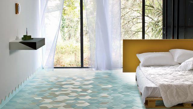 Arredamento Perfetto consiglia una ceramica multicolore e design tessile Mutina per la camera da letto presso Houselet Misterbianco