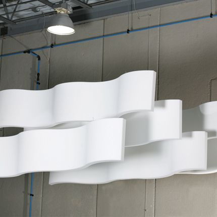acoustic solutions office acoustics. Whisperwave Ribbon Baffles Beautiful WavePatterned Acoustical Ceiling Treatments Solutions Acoustic Office Acoustics