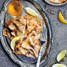 Crêpes au citron - crêpes med citronsocker. Frasiga, tunna och goda!