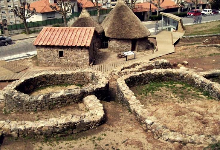 Restos arqueológicos del Castro de Vigo