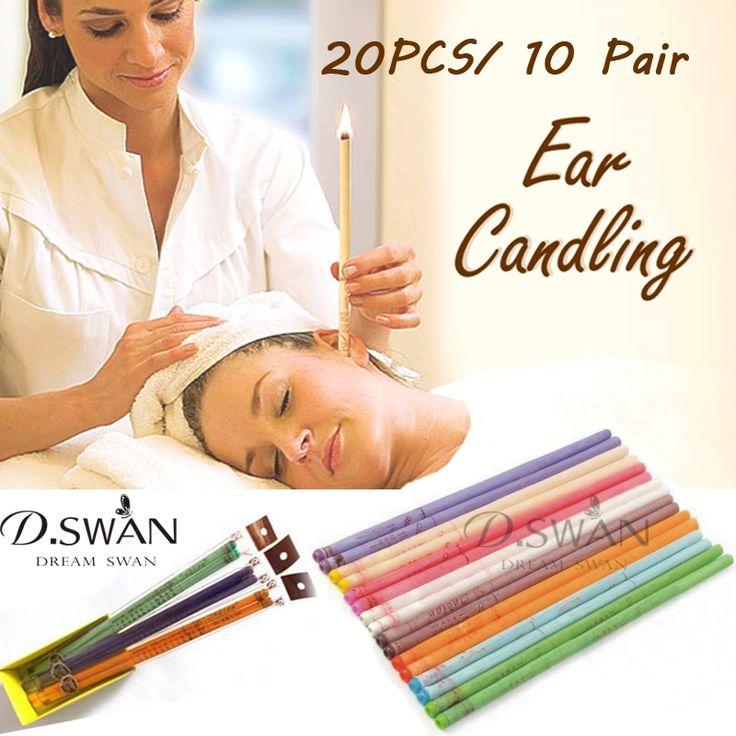 20 قطع الأذن تشميع الرعاية الصحية العلاج إزالة منظف الأذن شمع الأذن قدوم