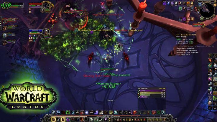 World Of Warcraft - Black Rock Hold +5 Mythic Keystone 3 chests (ilvl 90...