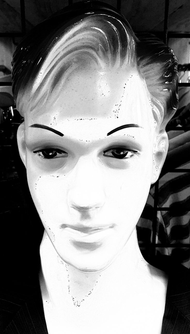 Black and white the mannequin by Deleted on YouPic