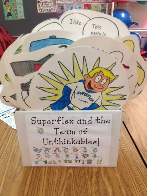 Superflex! More information on this social thinking tool at acardenas.weebly.com