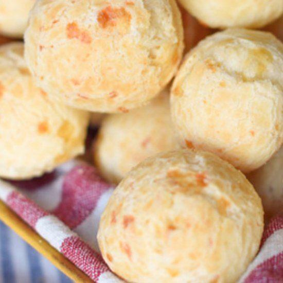 Brazilian Cheese Bread Pao de Queijo Recipe