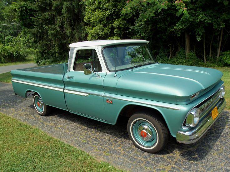 antique pickup trucks | 1966 Chevy C-10 Custom Pickup Truck in Pristine Shape | AskAutoExperts ...