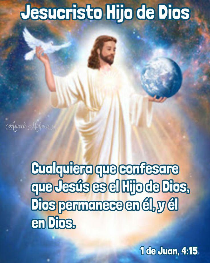 SI QUIERES QUE DIOS ESTE SIEMPRE CONTIGO TIENES QUE CONFESAR ESTO!! LEE AQUÍ.! 🌷  1 de Juan, 4:15 - Cualquiera que confesare que Jesús es e...