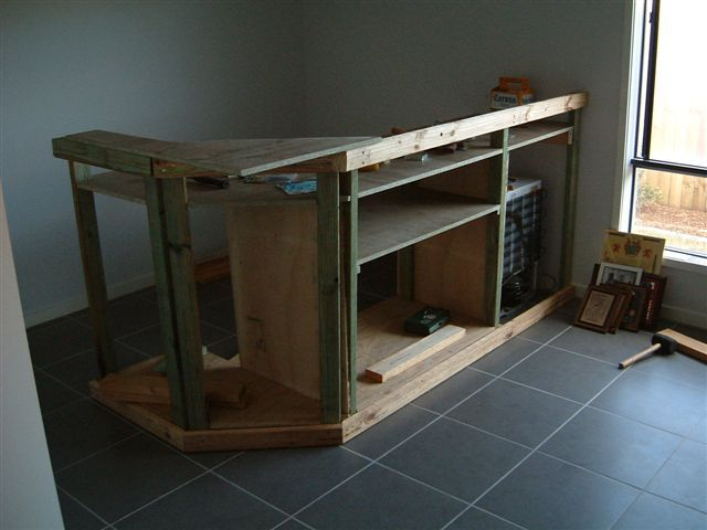 Step by step building a home bar