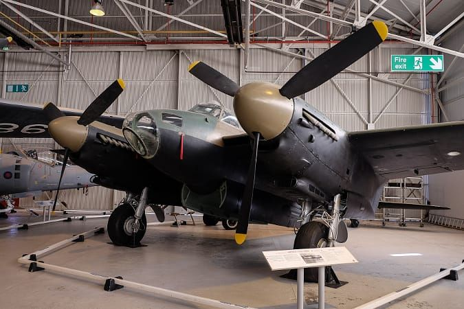 RAF Cosford Mosquito