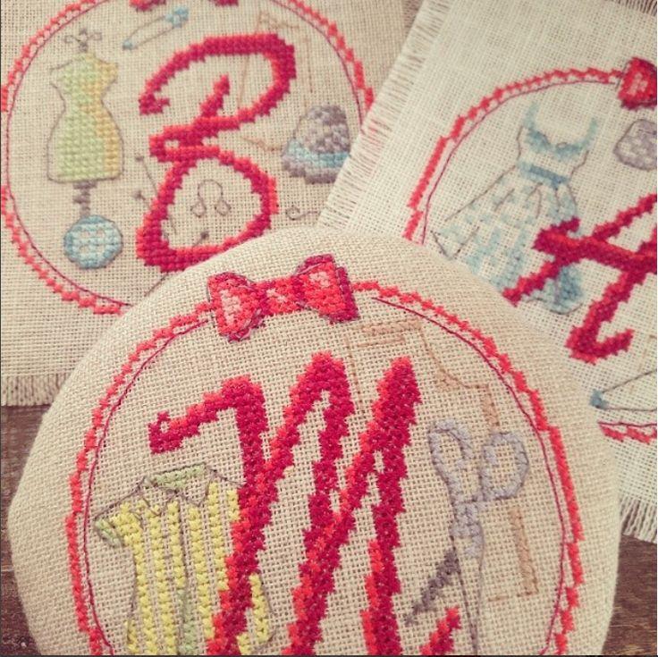 A,B,C... On revoit son alphabet avec les Brodeuses Parisiennes...