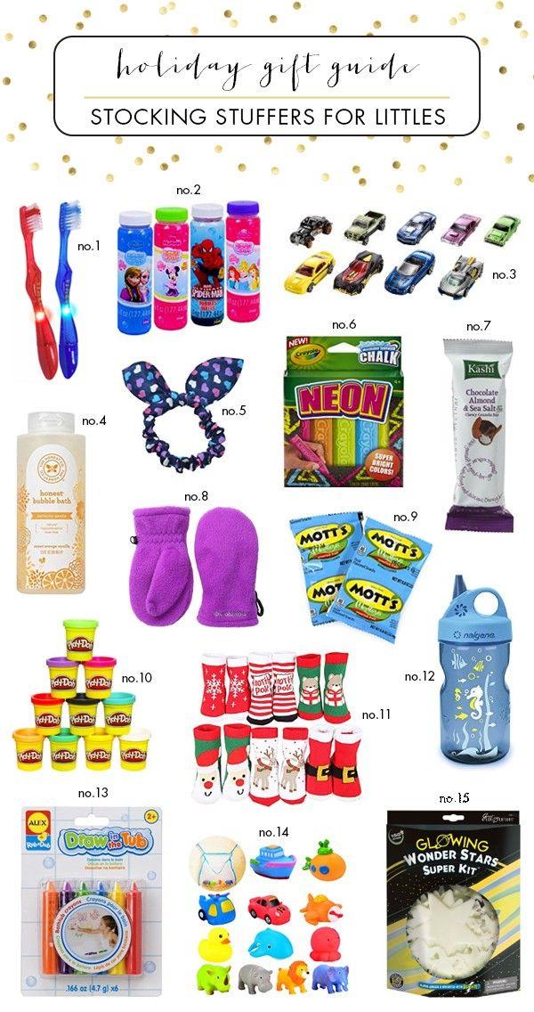 Stocking stuffer ideas for little kids