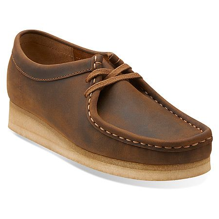 Clarks Wallabee | Women's - Beeswax Leather
