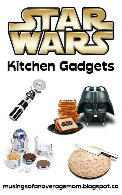 Star Wars Kitchen Gadgts - Star Wars gift ideas