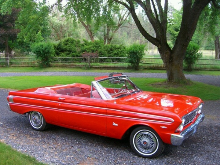 64 ford falcon, Ben's car when we meet in 1966, only his was not a convertible and was turquoise!