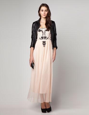 Bershka Colombia - Vestido Bershka falda plisada