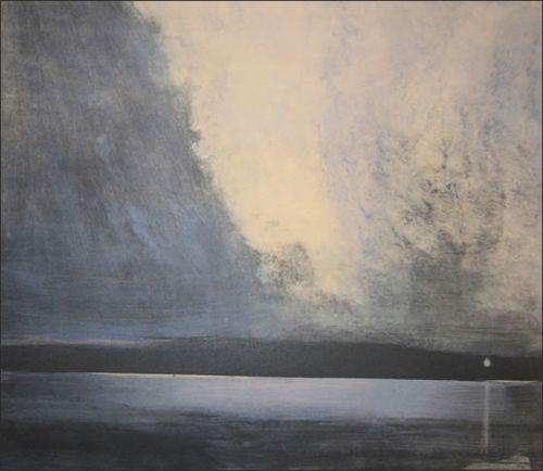Maleri rnulf opdahl 0000 for Minimal art landscape