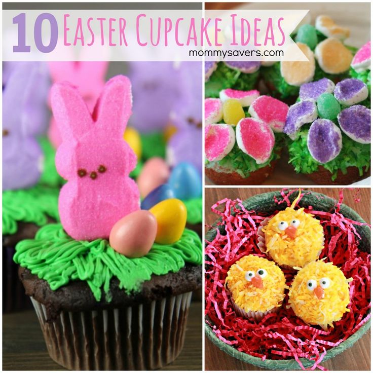 Easter Cupcakes: 10 Easy Easter Cupcake Ideas
