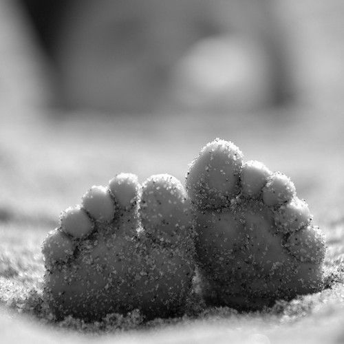 """Sandy toes… """"By the Sea, the Beautiful Sea"""""""