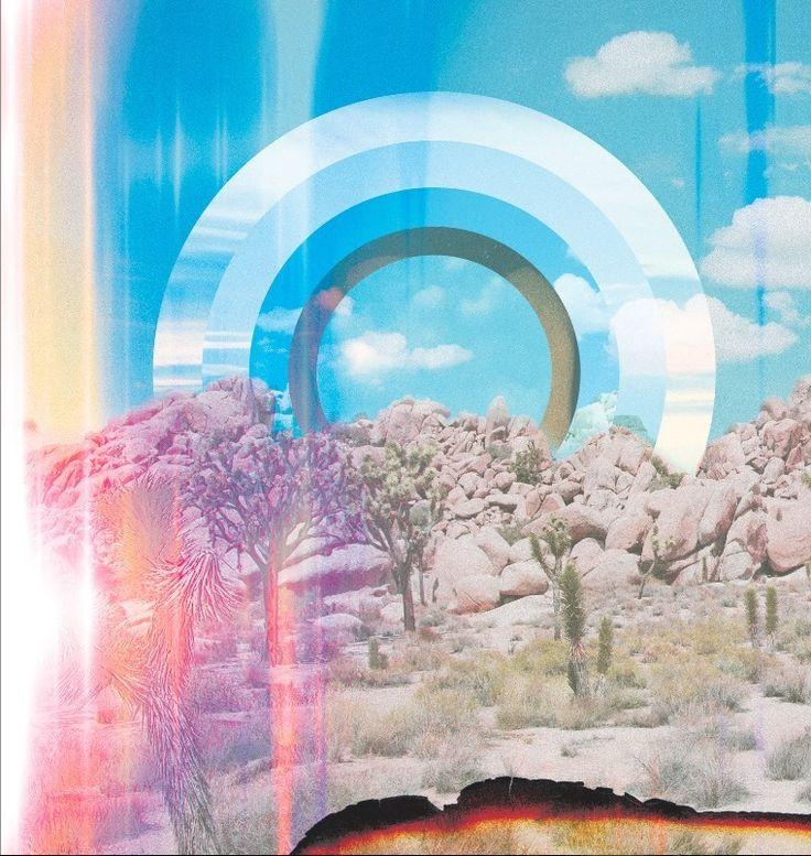 #glen_porter #art #musician #coverart #inspirational #colourful #geometric #flares #steppe #landscape #illustration #clouds #circles #collage