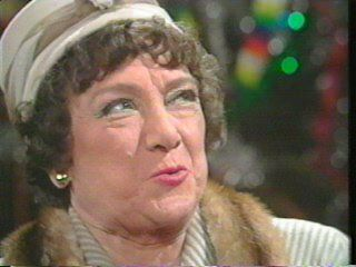 Hilda Baker - I remember meeting her at Granada Studio's bar in the early 70's.